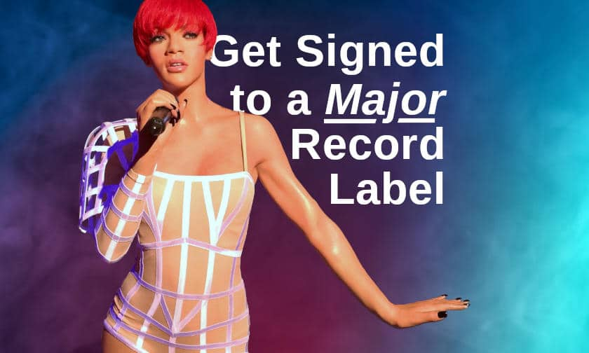 Signed to a record label