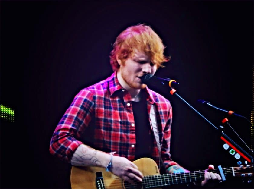 Loop pedals: Ed Sheeran
