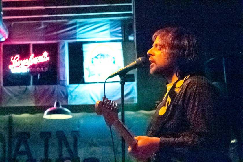 open mic singing