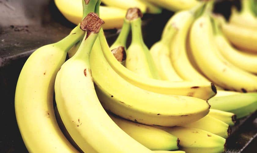 Is a banana good for the voice
