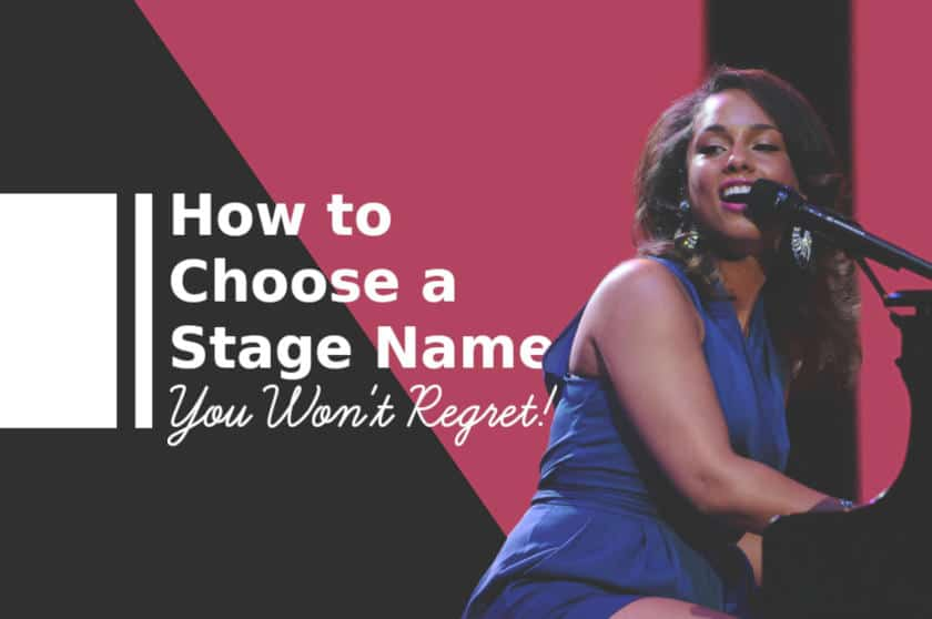 How to Choose a Stage Name