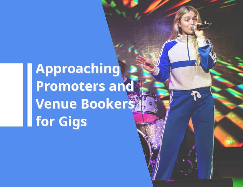 Booking gigs approaching venue bookers and promoters