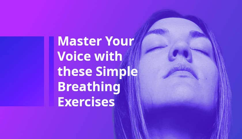 Breathing techniques for singers