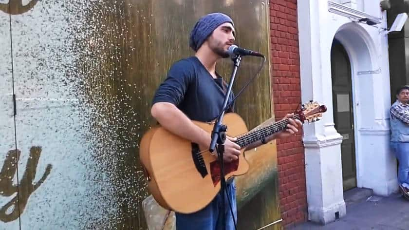 Busking in the UK