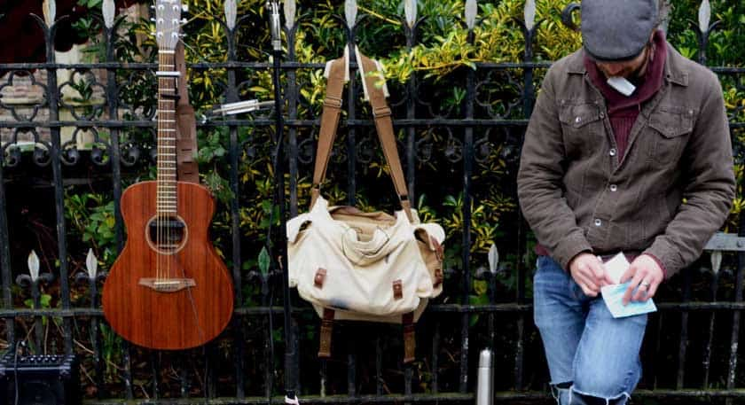 How to start busking