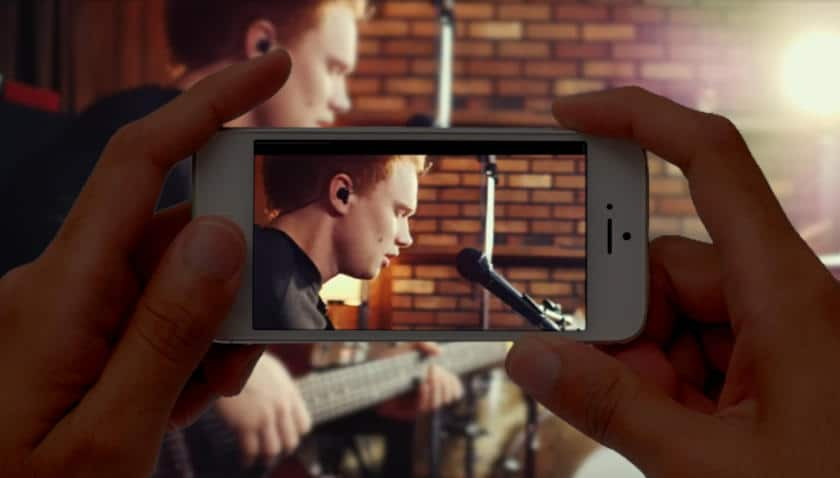 Make music video with mobile phone