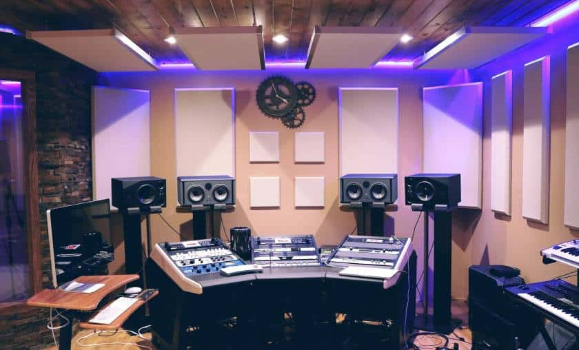 Make the most of your music studio session
