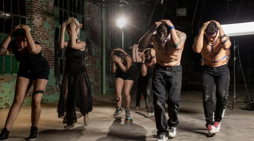 Sourcing extras and dancers for music videos