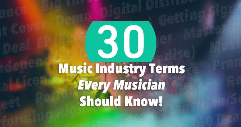 Music industry terms
