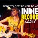 How to get signed to an Indie record Label