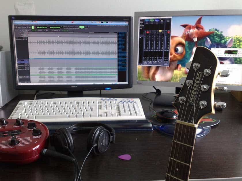 home recording studio how to set up