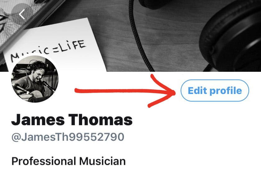 how to change your real name on twitter