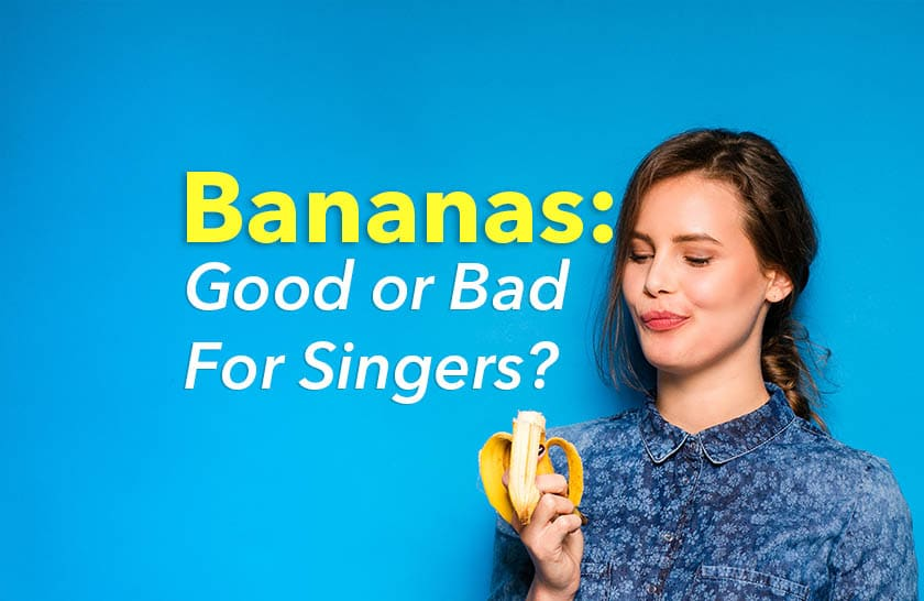 is banana good for the voice