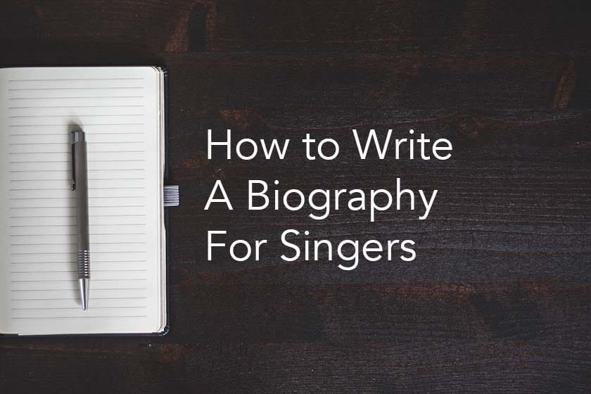 How to Write an Effective Musician Bio