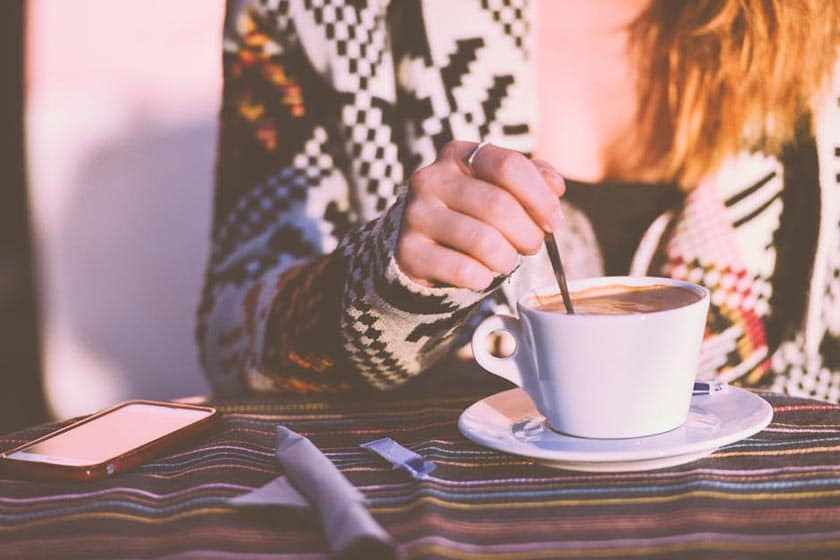 is coffee good for singers