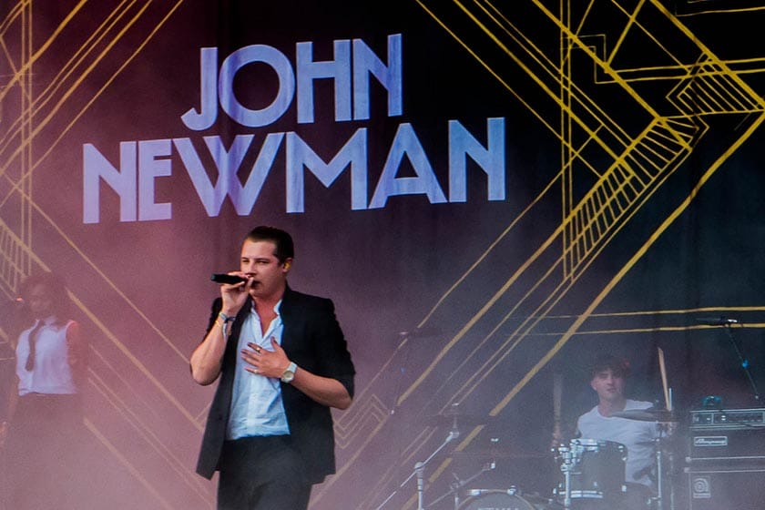 Famous nasally singers John Newman