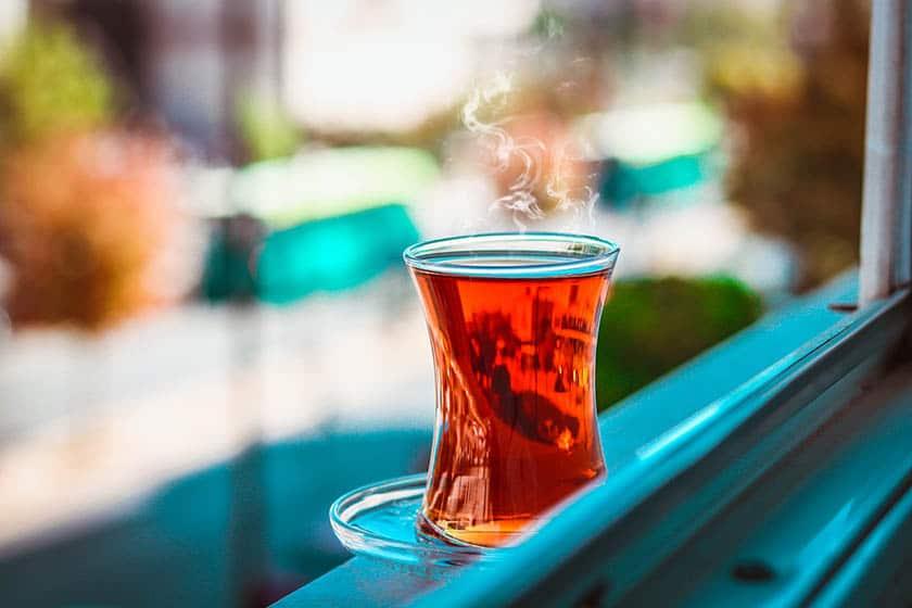 drinks for singers green tea ginger tea