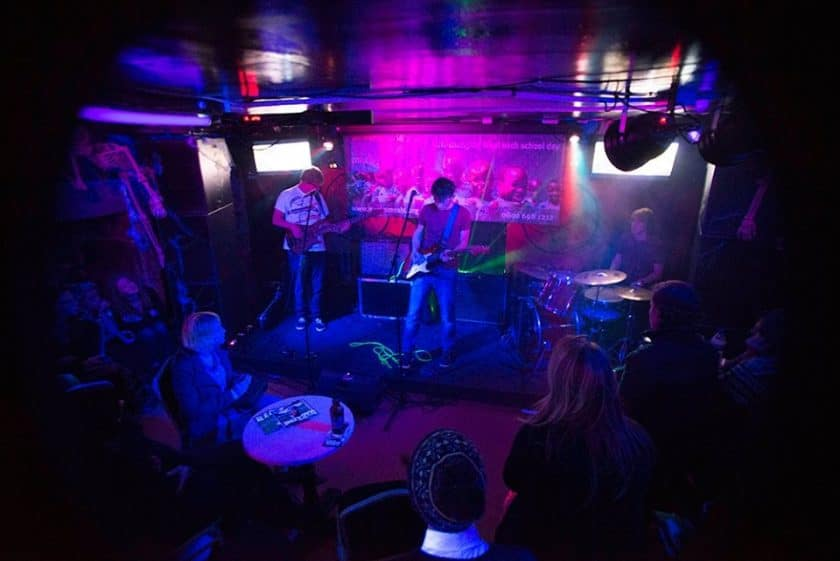 Edinburgh Underground Live: Open Mic Night