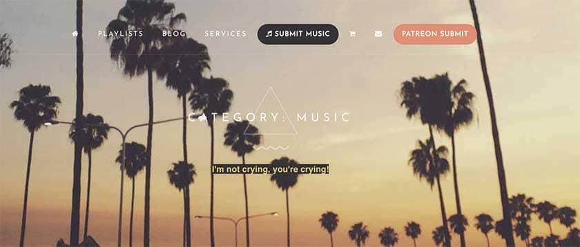 Best blogs with Spotifyplaylists