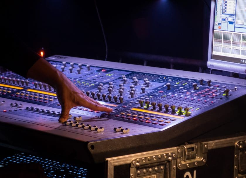 recording, editing and mixing