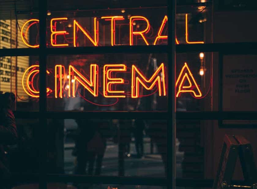 Working in a theatre or cinema