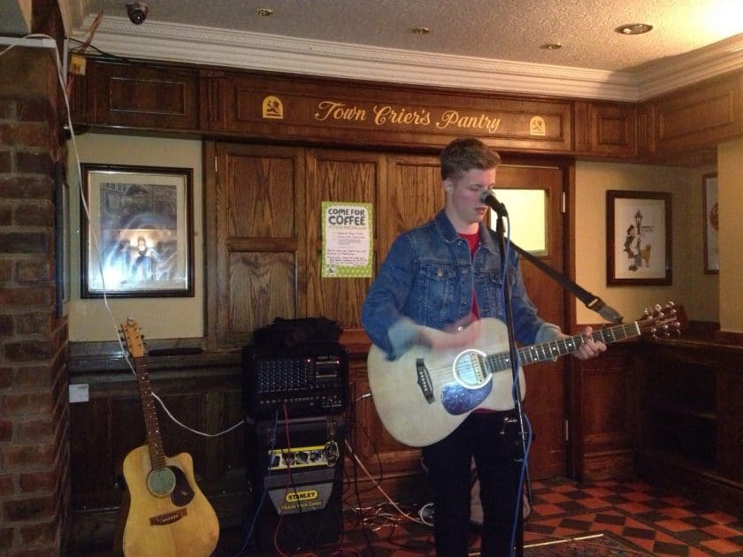The Town Crier Coventry Stapes Open Mic