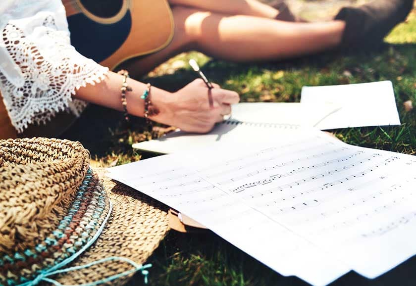 things to write songs about
