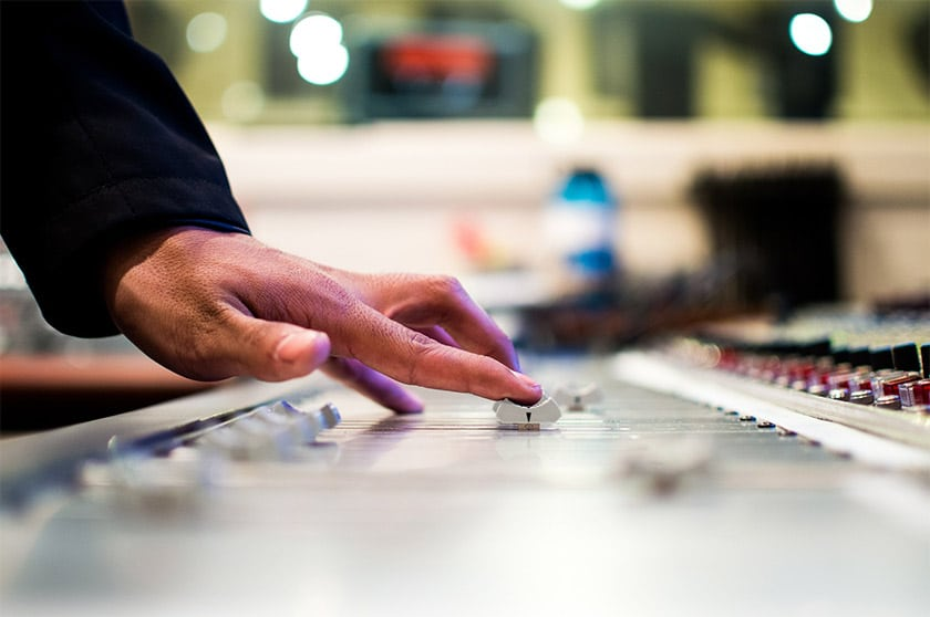 how to record mixing