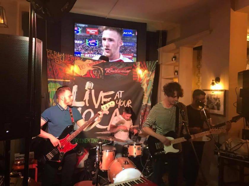 The Plainsman Nottingham Open Mic Night