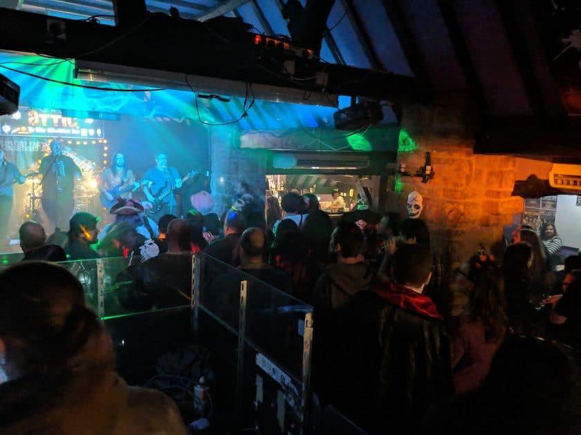 Ye Olde Salutation Inn Nottingham Open Mic Night
