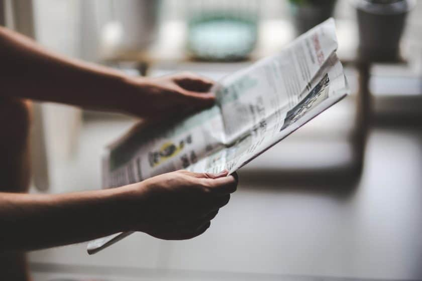 How to get a story in the newspaper