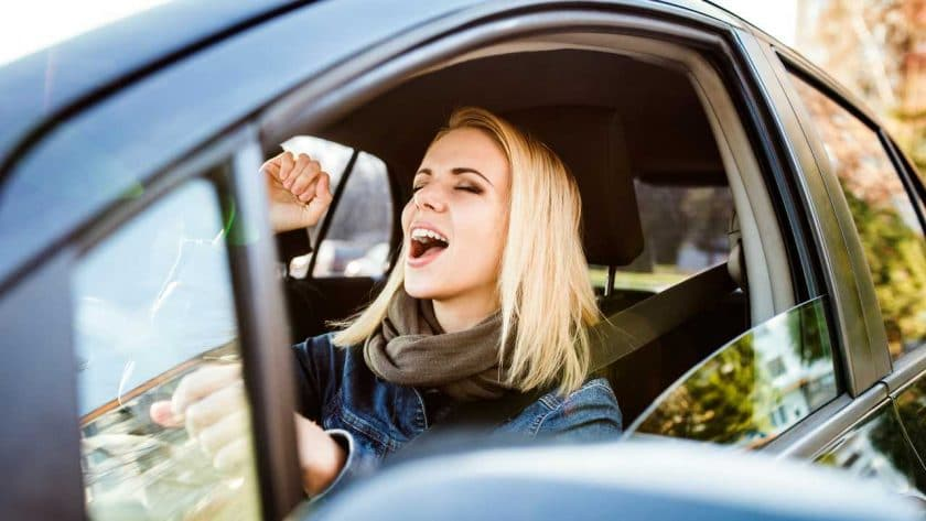 Good songs to sing in your car