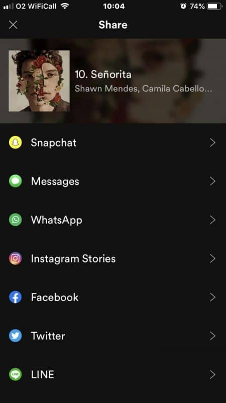 adding music to a Snapchat