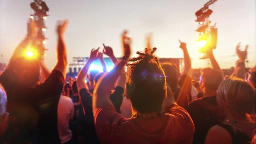 Music festival calendar