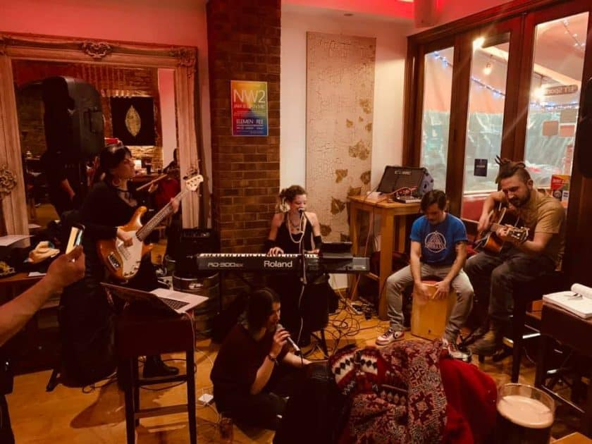 open mic Tuesday North London