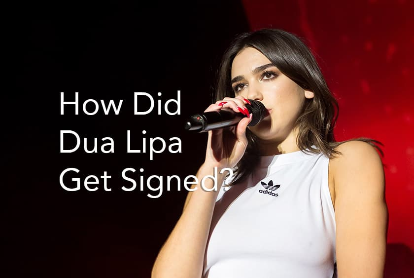 How was DuaLipa Discovered