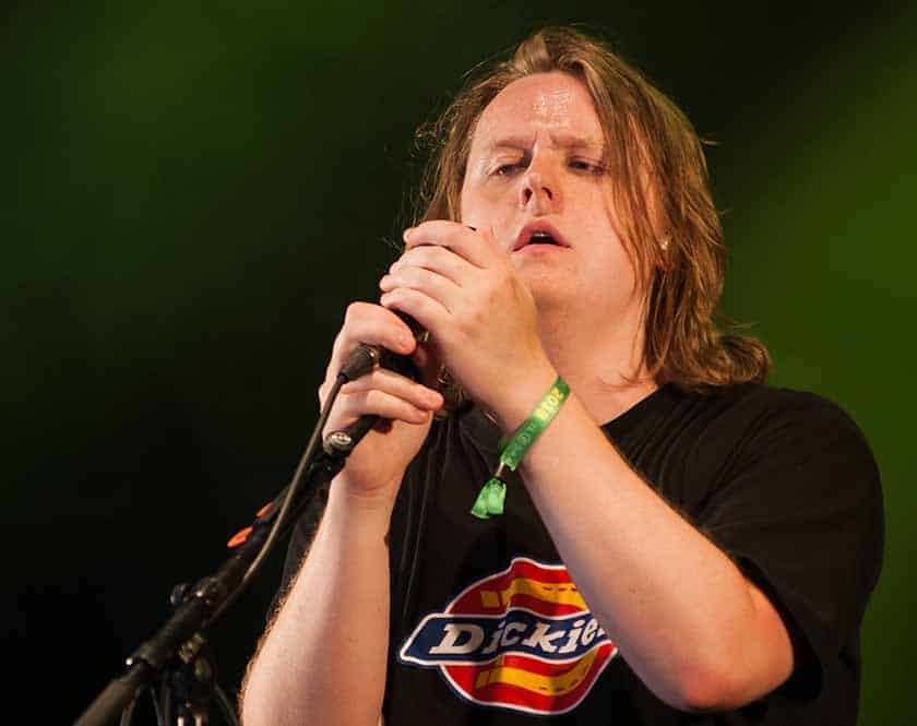 How was Lewis Capaldi discovered