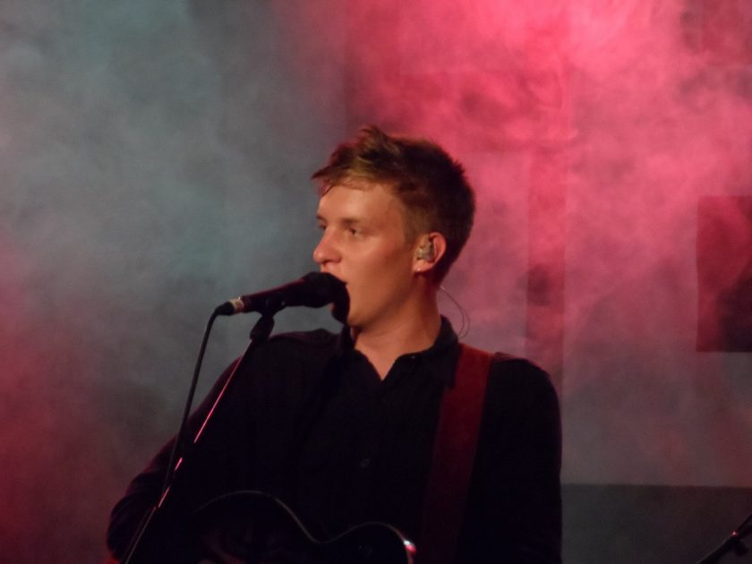How did George Ezra get discovered?