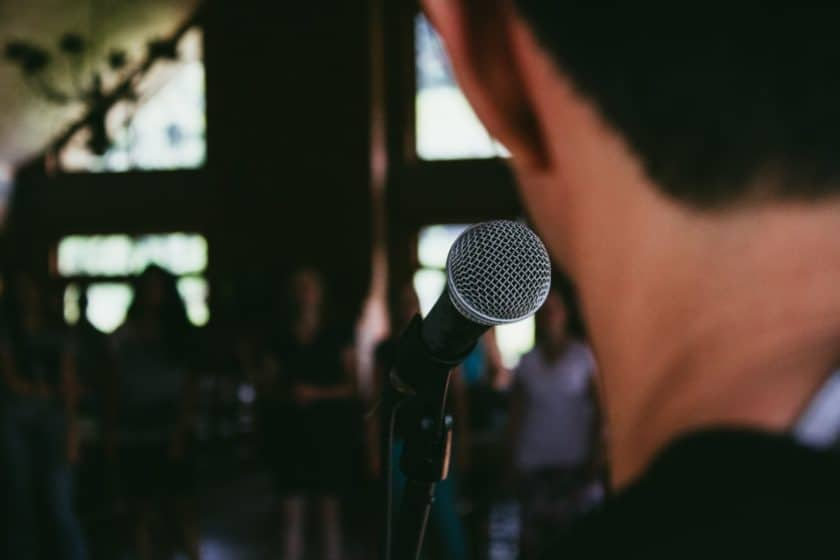 Head hurts when singing