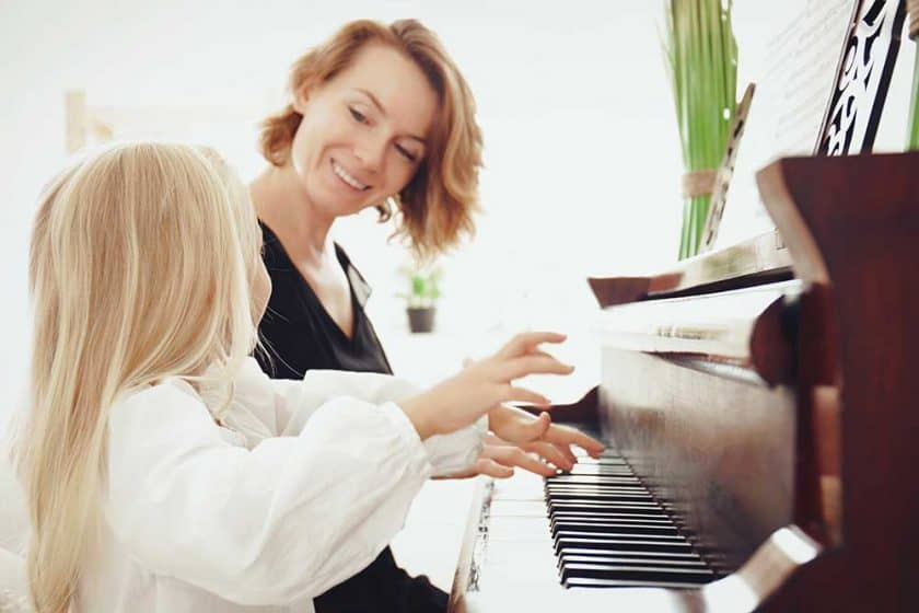 When can a child sing a song