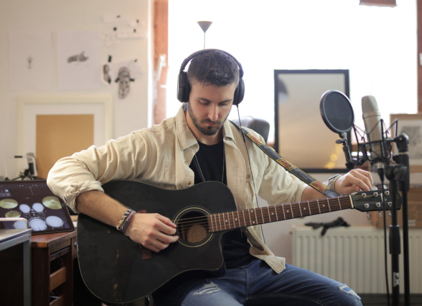 Making money from home as a singer