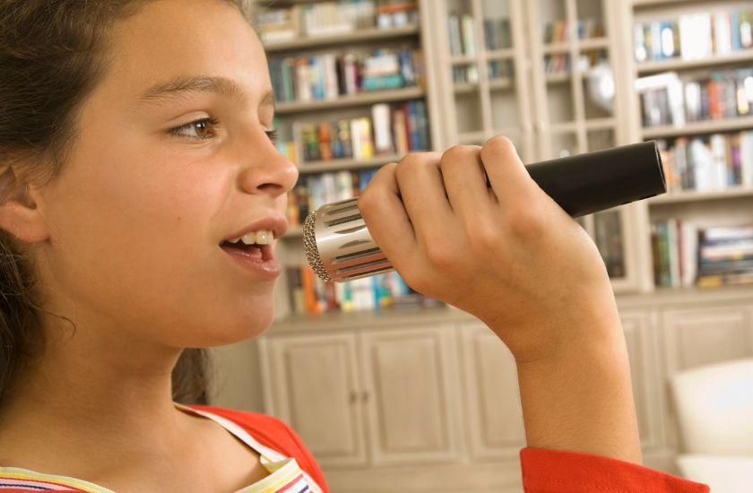 how to practice singing at home quietly