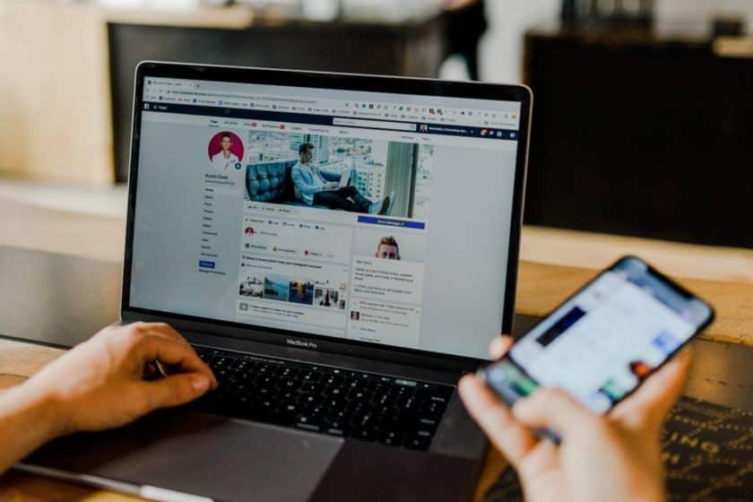 Verify social media accounts
