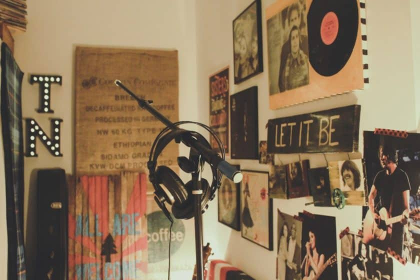 Vocal Booth at Home