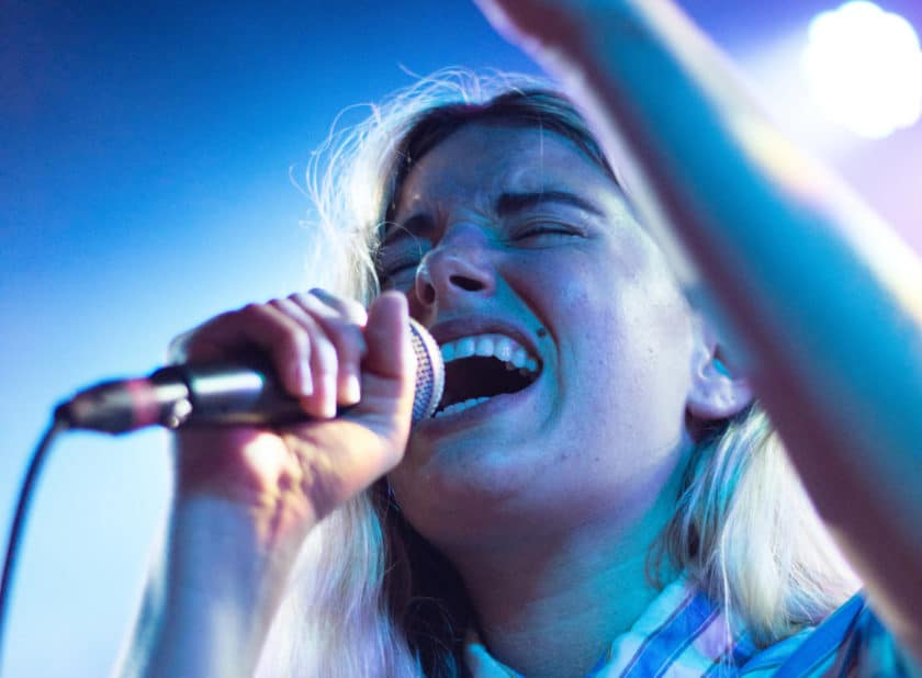 Do you sing with your talking voice?