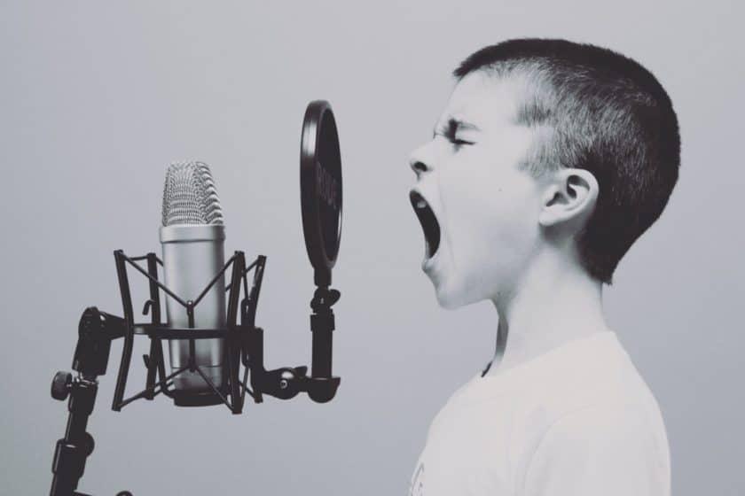 Singing during puberty