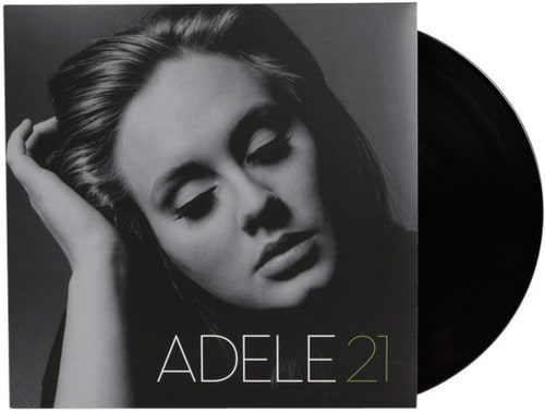 adele famous signed discovered