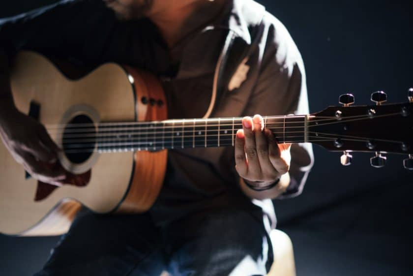 how to write a folk song chords